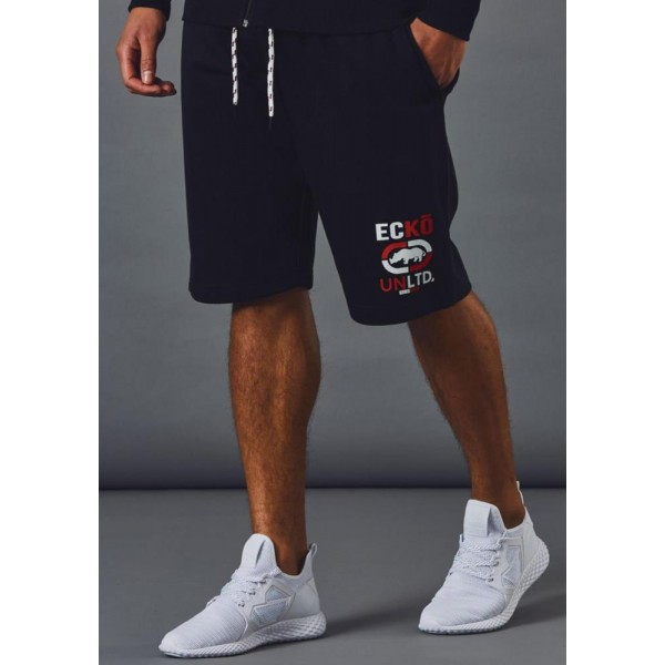 Ecko Unltd Longcross Fleece Short Anthracite