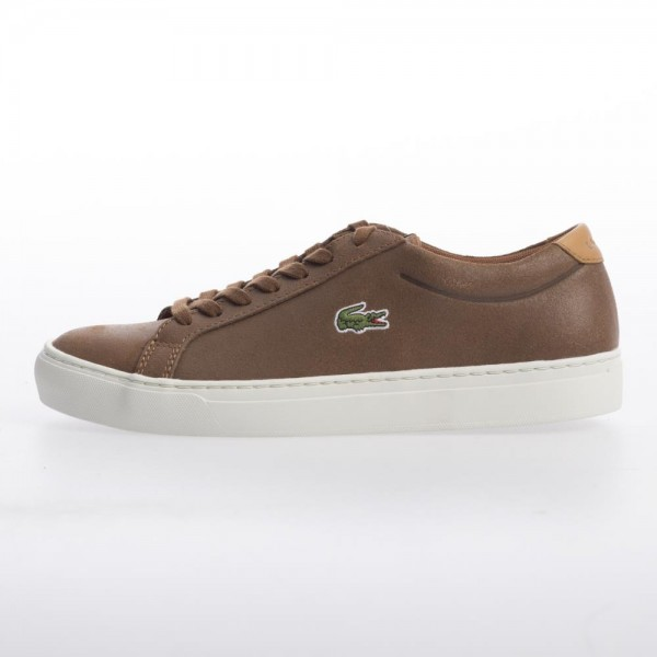 Lacoste Mens Alligator 417 2 SPM Brown