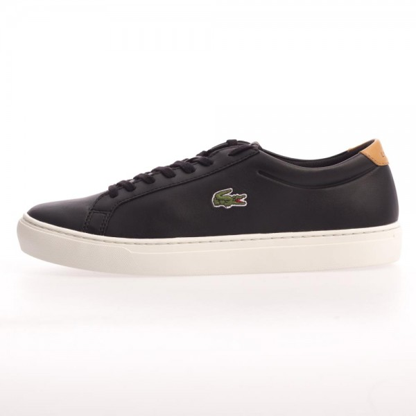 Lacoste Mens Alligator 417 1 Black Brown