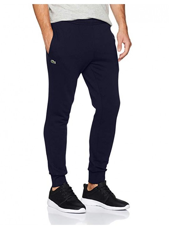 Lacoste Men's Essential Navy Drawstring Jogging Bottoms