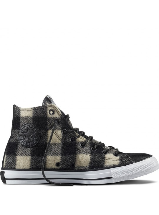 Chuck Taylor Unisex All Star Woolrich Sneakers Black/White