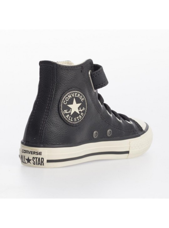 Converse Junior CT Strap Hi Black