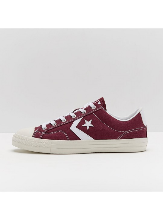 Converse Star Player OX Low Burgundy Maroon