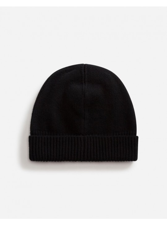 Dolce & Gabbana Wool Hat With Patch