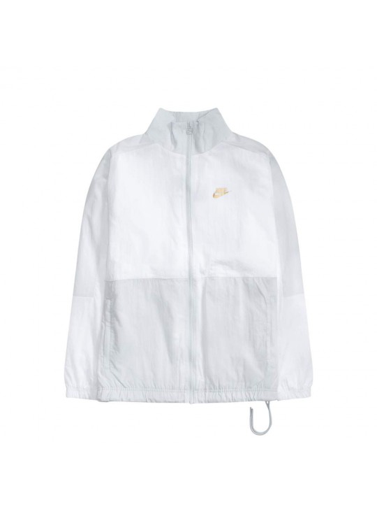 Nike Platinum/White Sports Woven Jacket