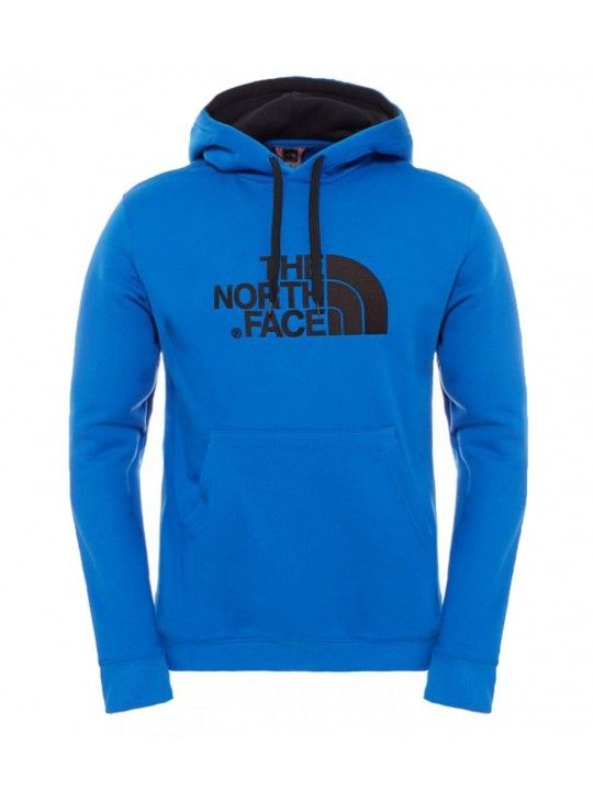 The North Face Mens Fleece Lined Monster Blue Hoodie