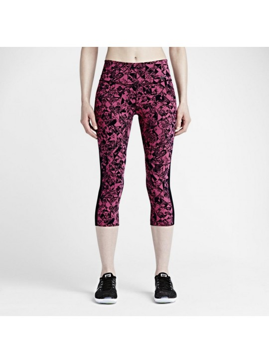 Nike Women's Engineered Waterfall Black & White Training Tights