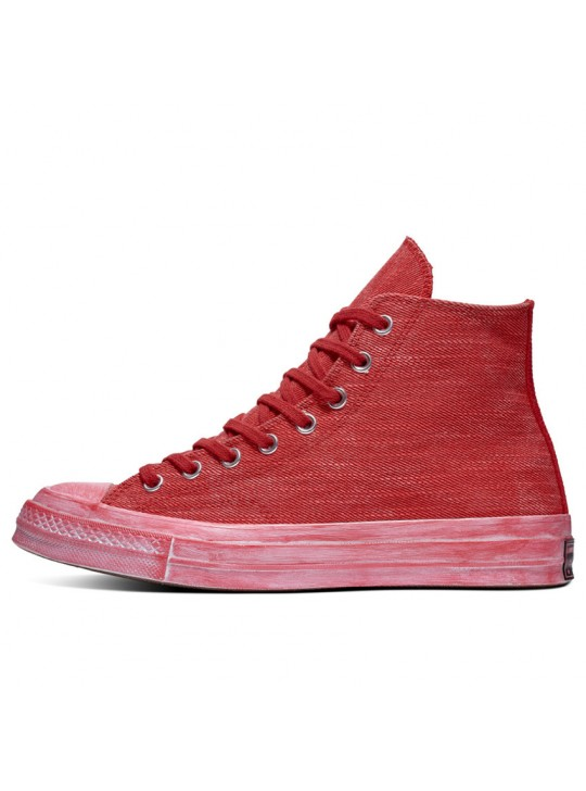 Converse Chuck 70 Overdyed Red Wash High Top