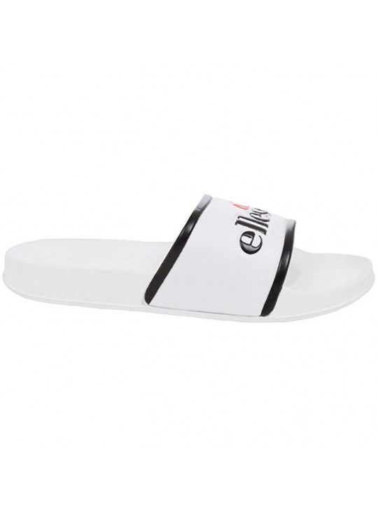 Ellesse Unisex White Black Slides