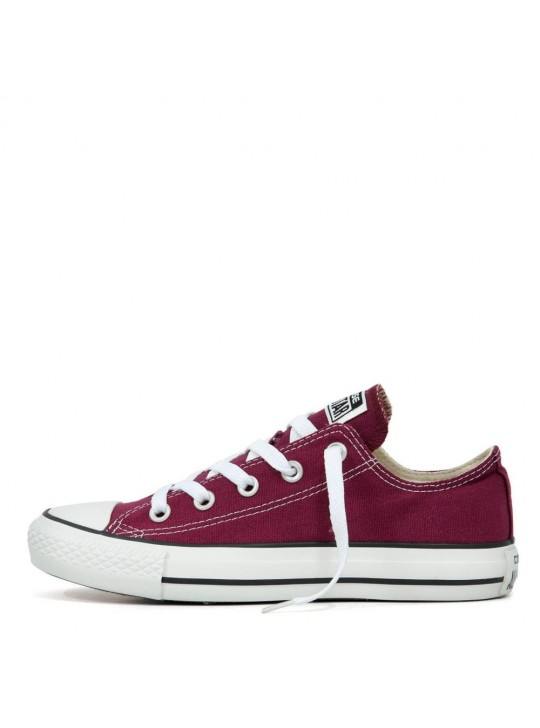Converse Unisex Chuck Taylor All Star Low Tops Maroon  Trainers