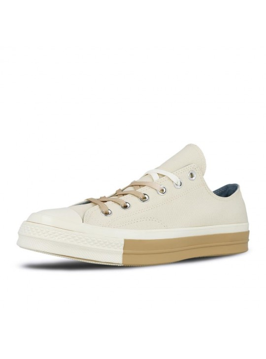 Converse Chuck '70s Super Color-Block Low Top Ivory