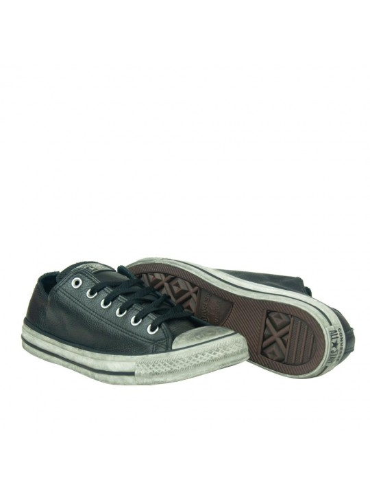 Converse Chuck Taylor All Star Ox Vintage Leather Black