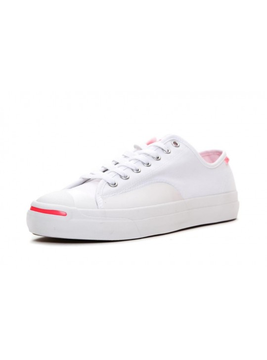 Converse Jack Purcell Pro White Red