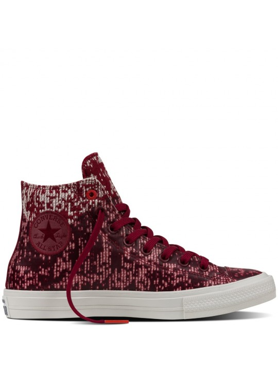 Converse Chuck II Rubber Red Unisex Shoes