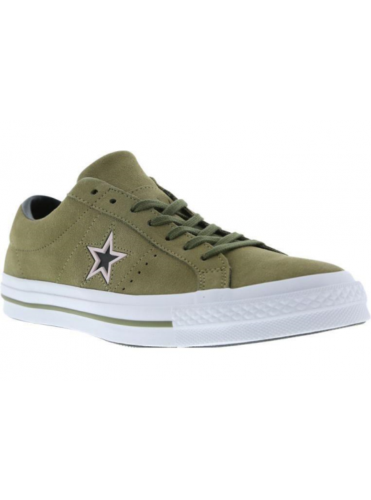 Converse Green Suede One Star