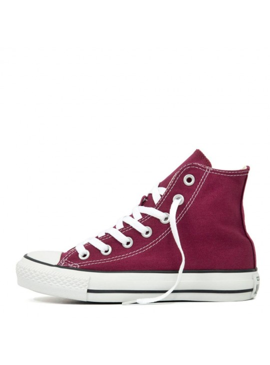 Converse Unisex Chuck Taylor All Star Hi Tops Maroon  Trainers