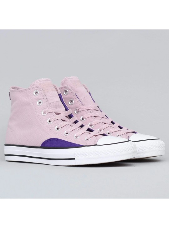 Converse CTAS Pro OP Hi Shoes Plum Chalk