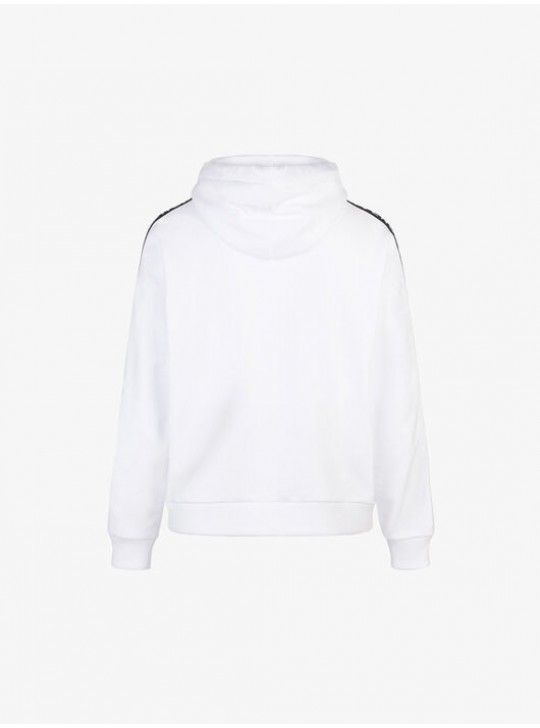 Givenchy 4G White Webbing Hoodie
