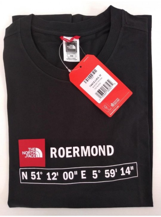 The North Face T-shirt Black Roermond