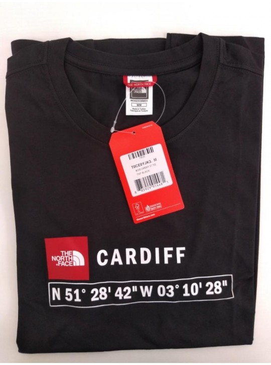 The North Face T-shirt Black Cardiff