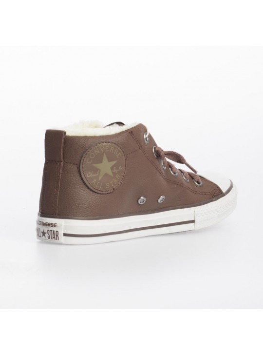 Converse Junior CT Street Mid Brown