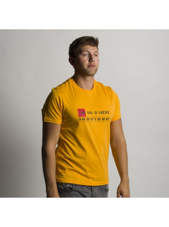 The North Face T-Shirt-Orange Val D isere