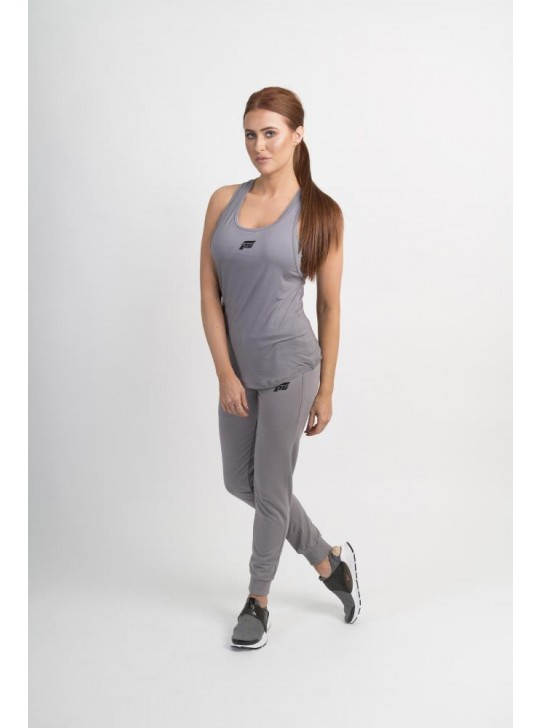 Feed The Gains FTG Women's Breeze Vest - Grey