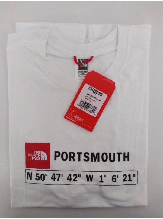The North Face T-shirt White Portsmouth
