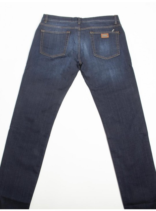 Dolce & Gabbana Mens Classic Jeans Navy
