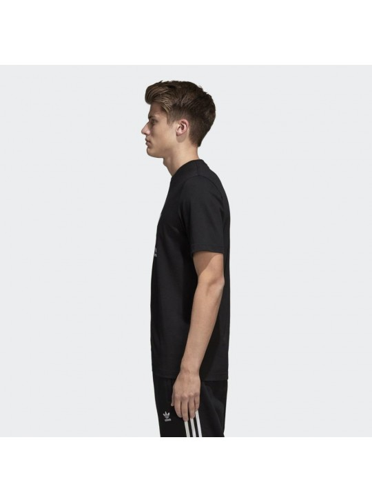 Adidas Originals Men's Short Sleeve Black Trefoil T-Shirt