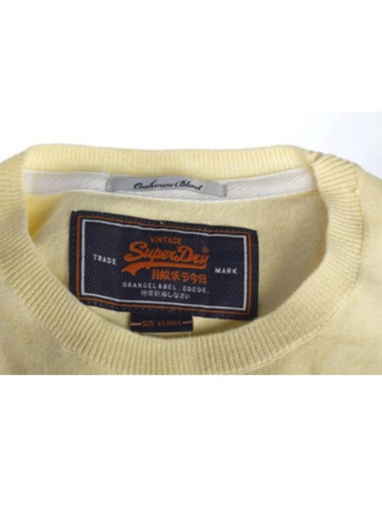 Superdry Crew Yellow