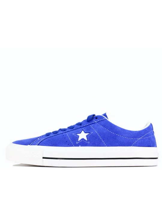 Converse Cons One Star Pro Lo Blue