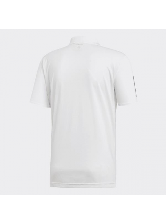 Adidas Men's Must Have Pain White Short Sleeve Polo