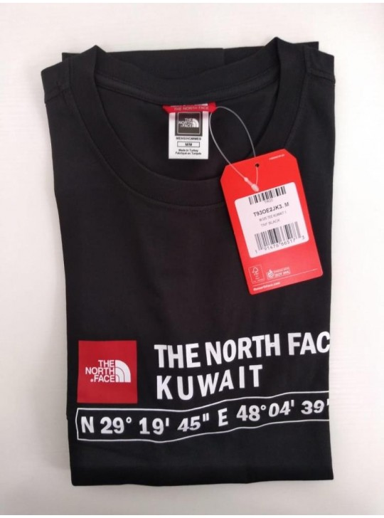 The North Face T-shirt Black Kuwait