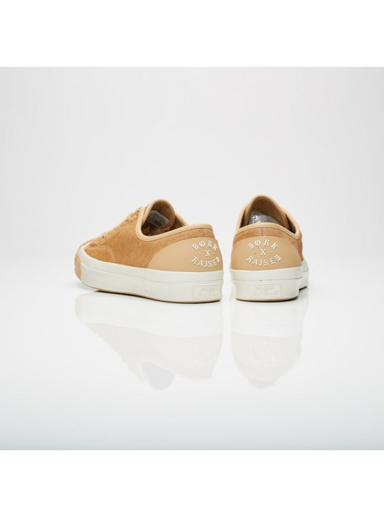 Converse Jack Purcell x Born & Raised Camel