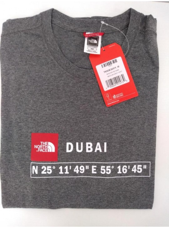 The North Face T-Shirt-Grey Heat Dubai
