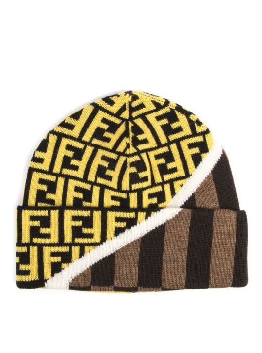 Fendi Multicoloured Wool Hat