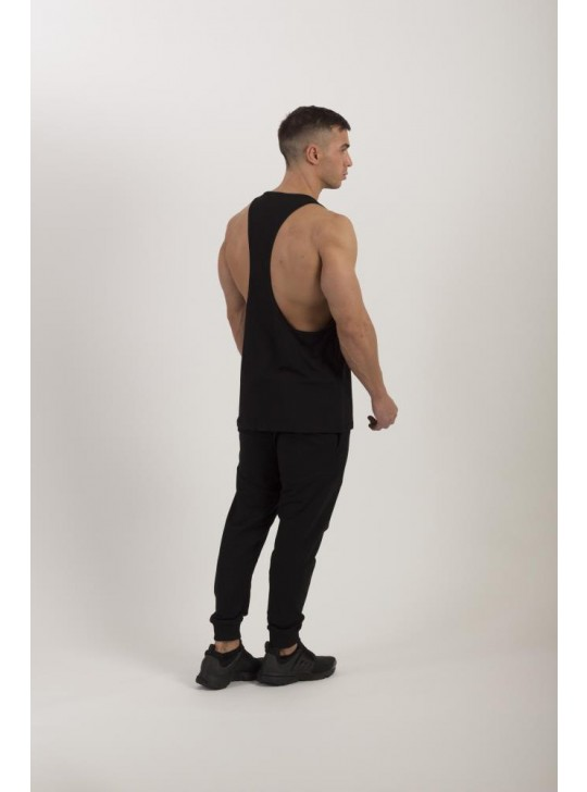 Feed The Gains FTG Men's Loose Muscle Vest - Black