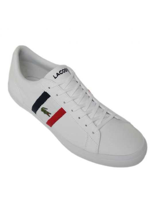 LACOSTE MENS TRAINERS LEROND 119 (GRADE B)