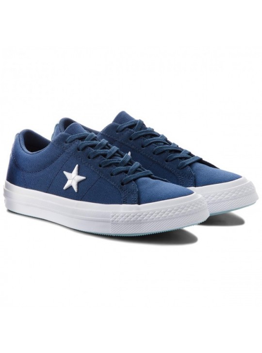 Converse One Star Canvas Trainers