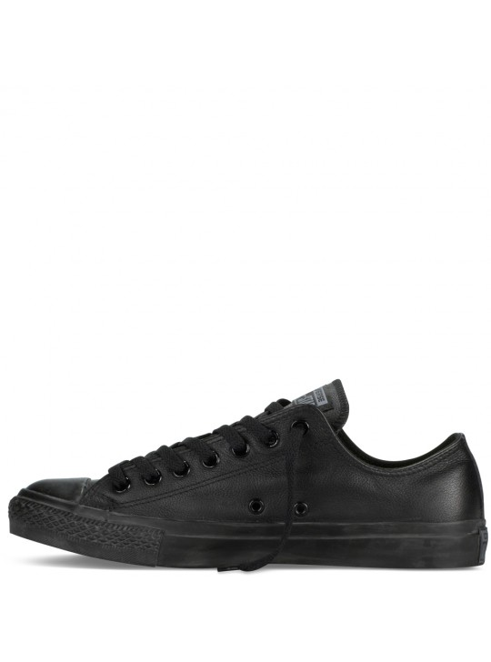 Converse Chuck Taylor Leather Low Top Black Mono