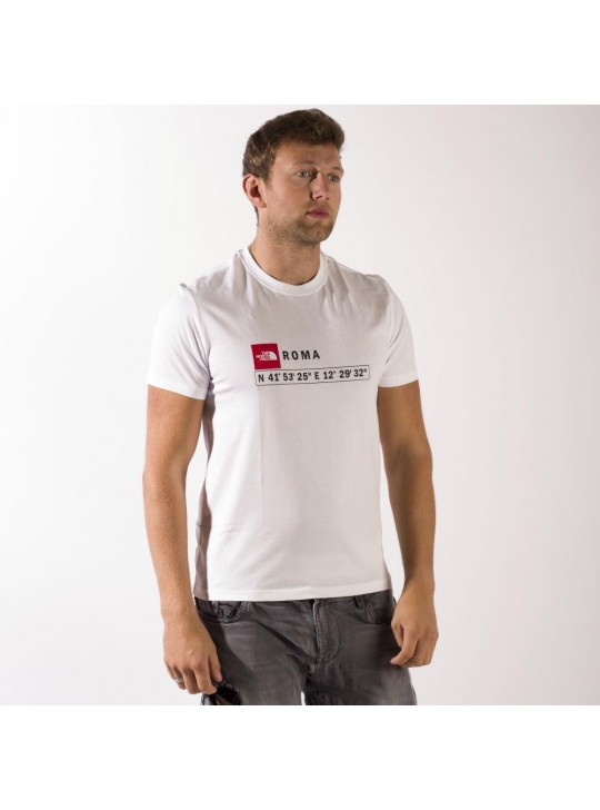 The North Face T-Shirt-White-Roma