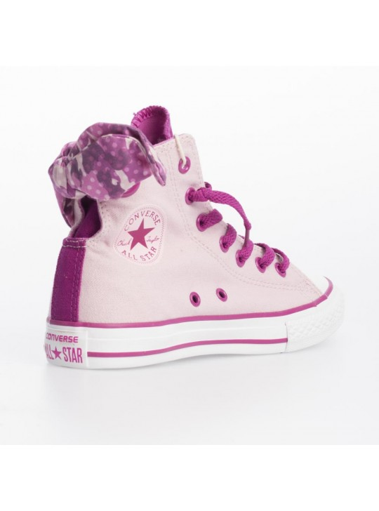 Converse Junior CT Bow Back Hi Pink