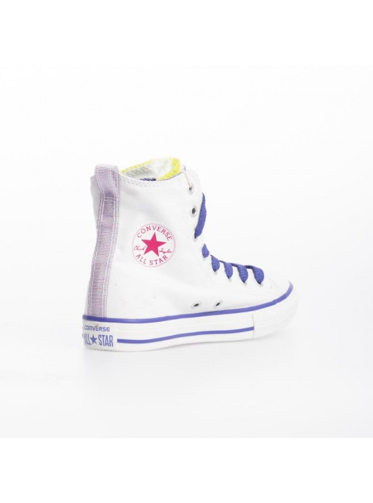 Converse Junior CT Party Hi White