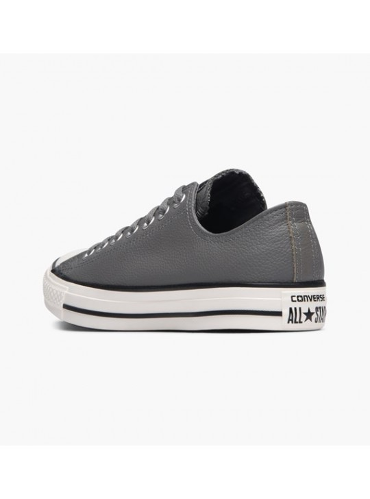 Converse Chuck Taylor All Star Thermal Leather Trainers Grey