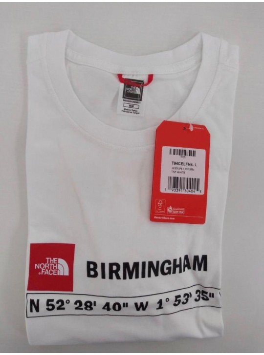 The North Face T-shirt White Birmingham
