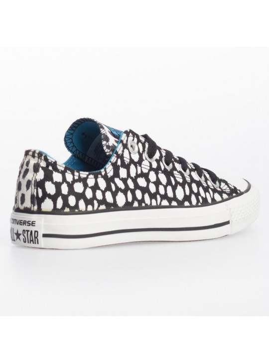 Converse Unisex CTAS Animal Print Ox Black
