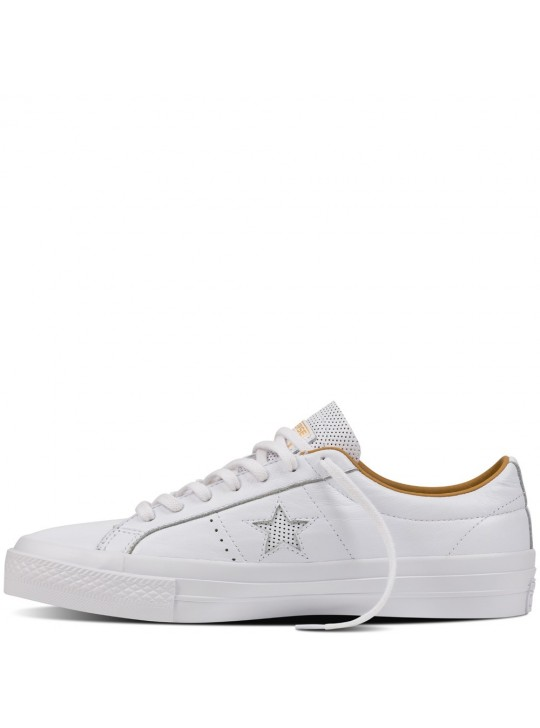 Converse One Star Leather Ox White