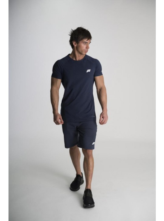 Feed The Gains FTG Men's Muscle T-Shirt - Navy