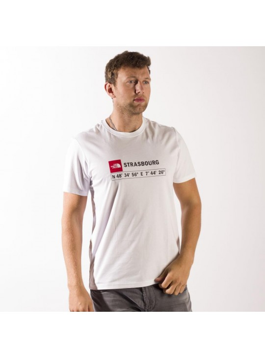 The North Face T-Shirt-White-Strasbourg